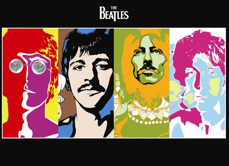 The BeatlesPopüler Kültür Kanvas Tablo