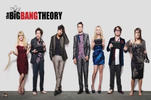 The Big Bang Theory Kanvas Tablo