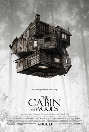 The Cabin in the Woods Afiş Kanvas Tablo