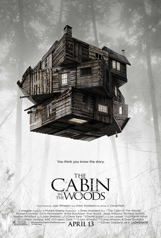 The Cabin in the Woods Afiş Kanvas Tablo