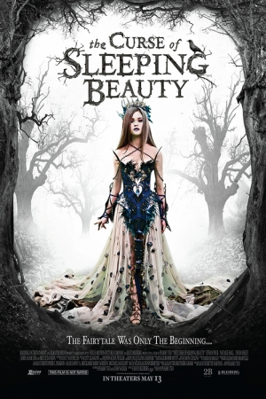 The Curse Of Sleeping Beauty-1 Film Afişi Sinema Kanvas Tablo