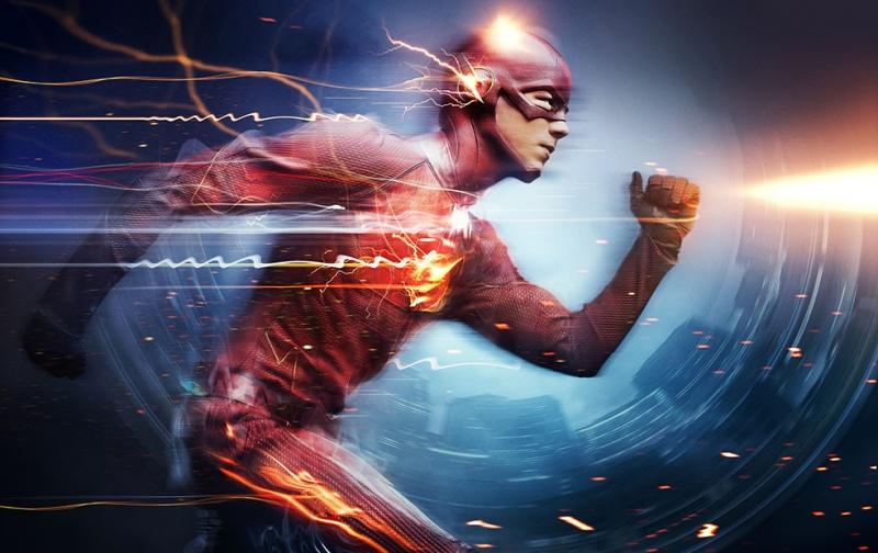 The Flash Sinema Kanvas Tablo