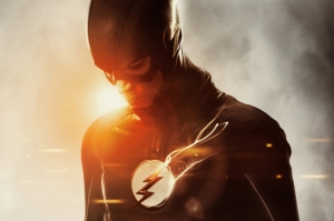 The Flash Süper Kahramanlar Kanvas Tablo