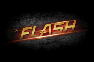 The Flash Süper Kahramanlar Logo Kanvas Tablo