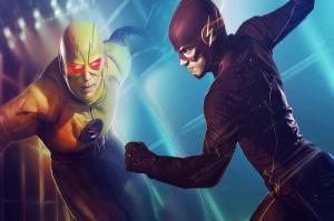 The Flash Süper Kahramanlar Poster-5 Kanvas Tablo