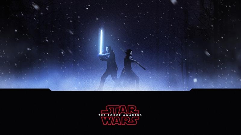 The Force Awakens 1 Star Wars Kanvas Tablo
