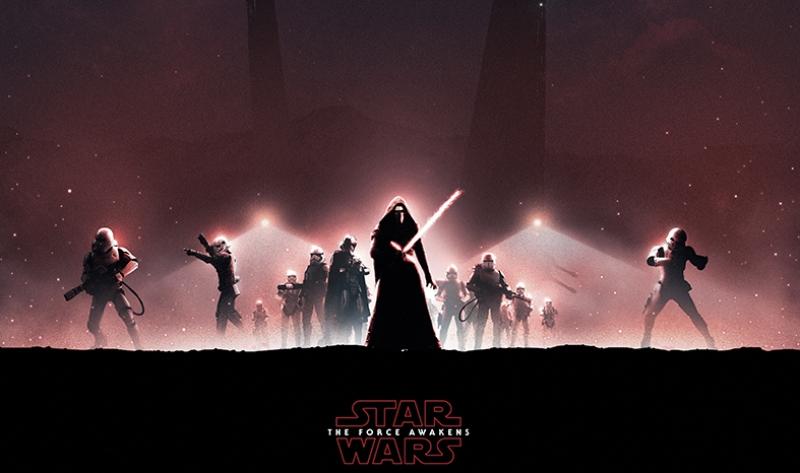 The Force Awakens 2 Star Wars Kanvas Tablo
