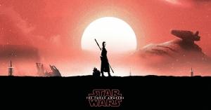 The Force Awakens 3 Star Wars Kanvas Tablo