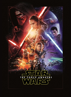 The Force Awakens Film Poster Star Wars Kanvas Tablo