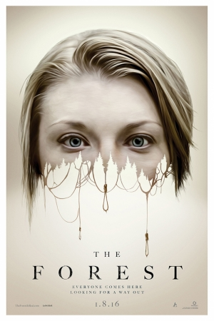 The Forest Film Afişi Natalie Dormer Sinema Kanvas Tablo