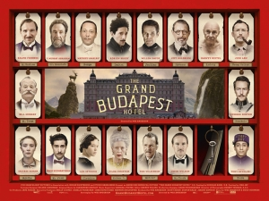 The Grand Budapest Hotel Afiş Kanvas Tablo