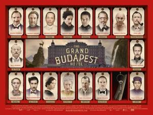 The Grand Budapest Hotel Afiş Kanvas Tablo