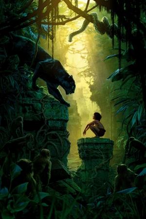 The Jungle Book Sinema Kanvas Tablo