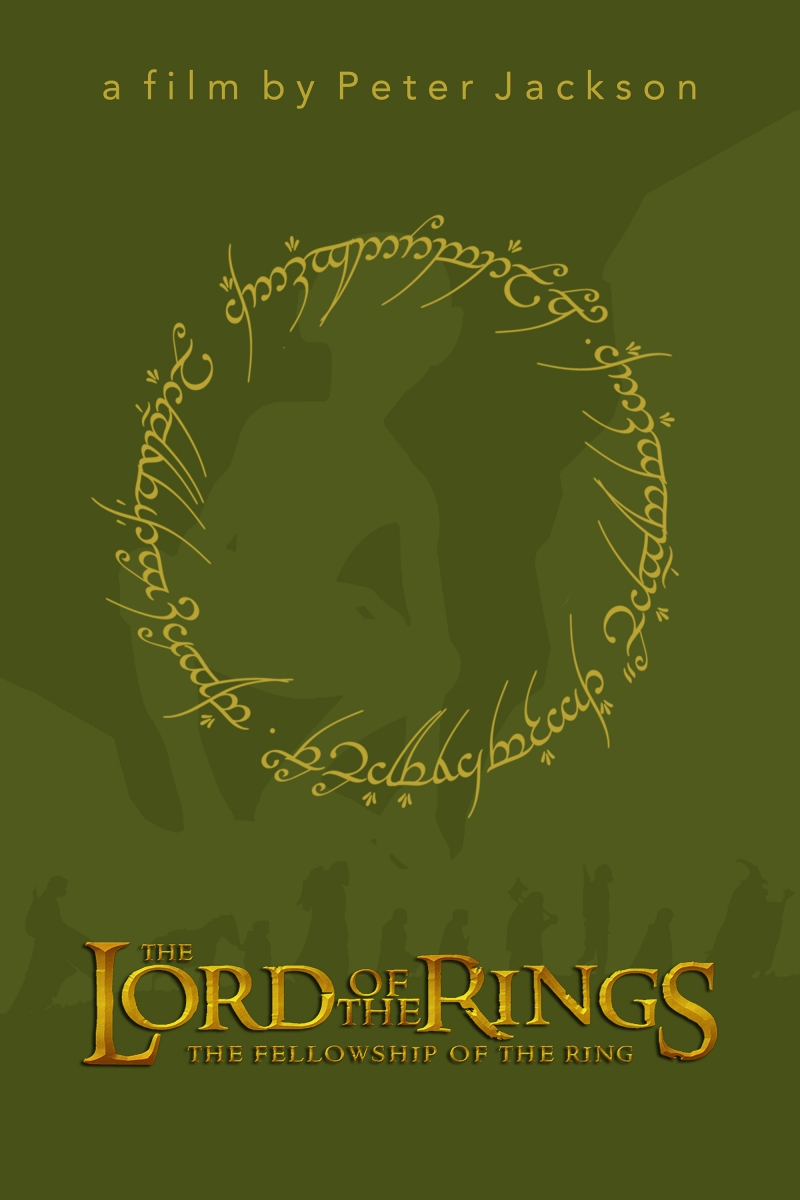 The Lord of the Rings Yüzüklerin Efendisi Kanvas Tablo 2
