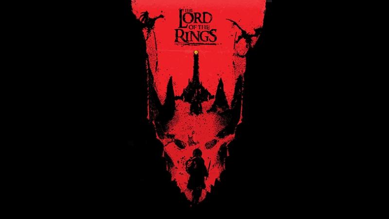 The Lord of the Rings Yüzüklerin Efendisi Kanvas Tablo
