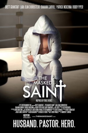 The Masked Saint Film Afişi Sinema Kanvas Tablo