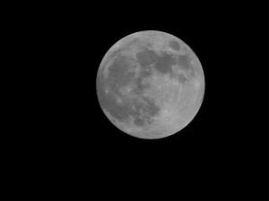 The Moon Dünya & Uzay Kanvas Tablo