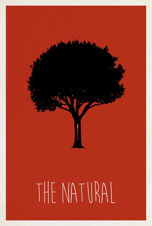 The Natural Ağaç Popüler Kültür Kanvas Tablo