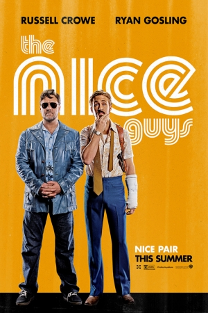 The Nice Guys Film Afişi Sinema Kanvas Tablo