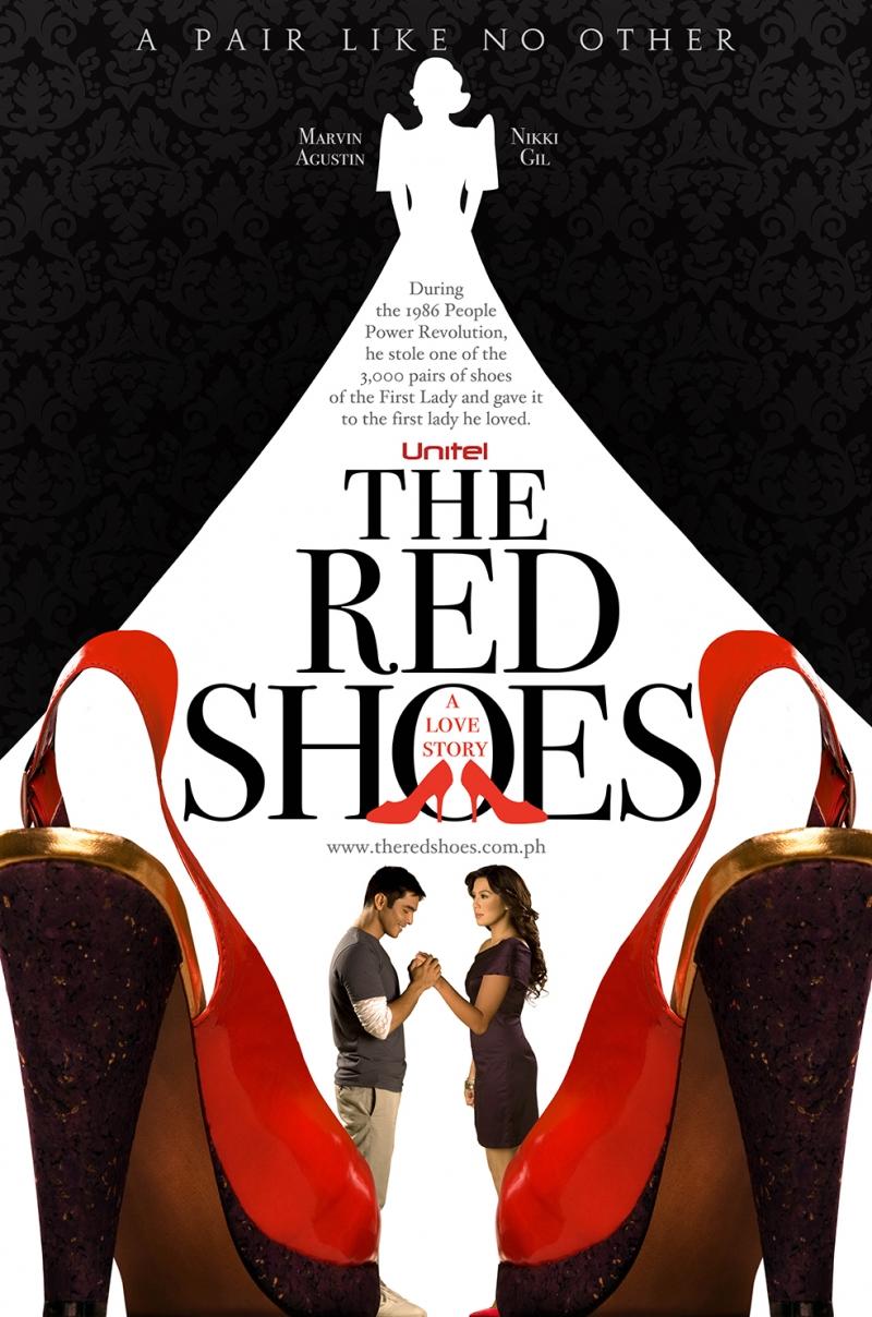 The Red Shoes Sinema Kanvas Tablo