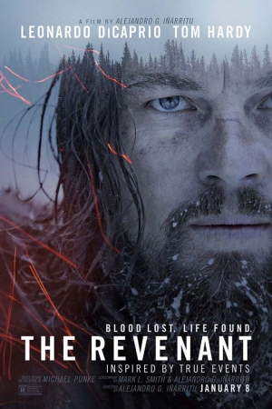The Revenant-2015 Film Afişi Sinema Kanvas Tablo