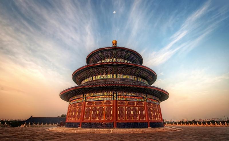 The Temple Of Heaven Çin Şehir Manzarası Dünyaca Ünlü Şehirler Kanvas Tablo