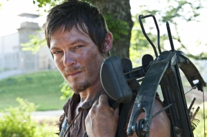 The Walking Dead Daryl Dixon Kanvas Tablo