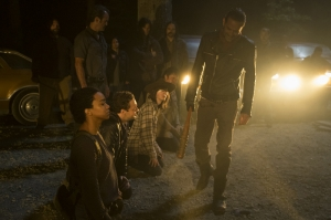 The Walking Dead Negan-3 Kanvas Tablo