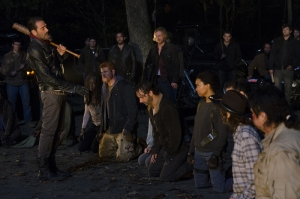The Walking Dead Negan-4 Kanvas Tablo