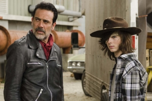 The Walking Dead Negan And Carl Kanvas Tablo