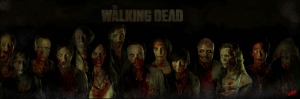 The Walking Dead Zombi Kanvas Tablo