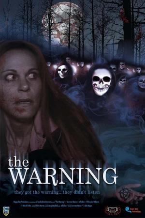 The Warning-2015 Film Afişi Sinema Kanvas Tablo