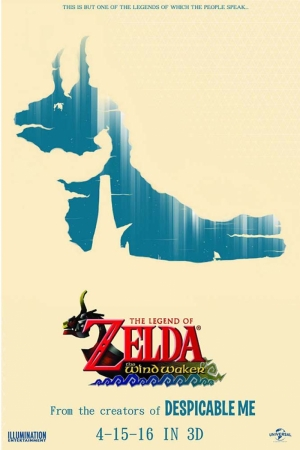 The Wind Waker Film Afişi Sinema Kanvas Tablo
