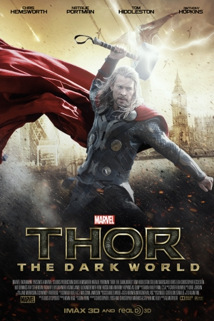 Thor-2 Film Afişi Sinema Kanvas Tablo