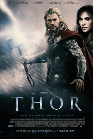 Thor-3 Film Afişi Sinema Kanvas Tablo