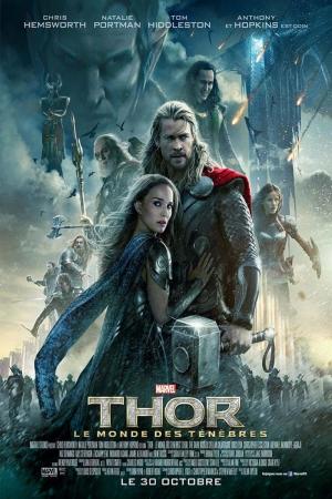 Thor Film Afişi Sinema Kanvas Tablo
