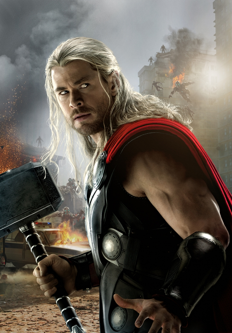 Thor Marvel Avengers Kanvas Tablo