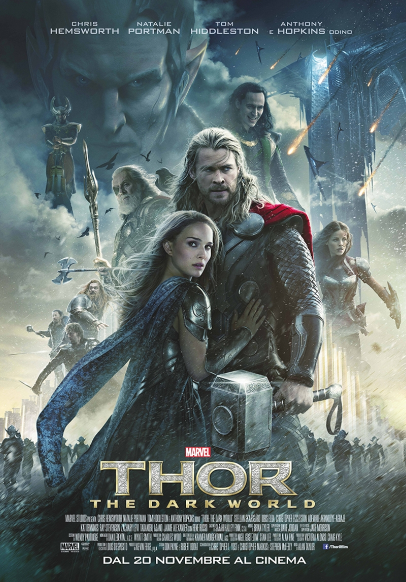Thor Marvel Kanvas Tablo