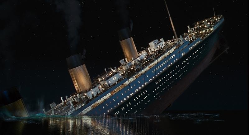 Titanic Kanvas Tablo