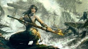 Tomb Raider Popüler Kültür Kanvas Tablo