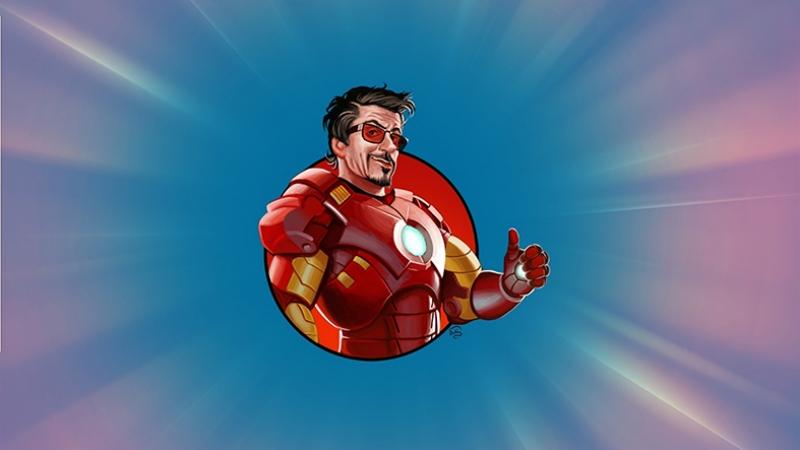 Tony Stark Iron Man Süper Kahramanlar Kanvas Tablo