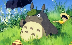 Totoro 2 Popüler Kültür Kanvas Tablo