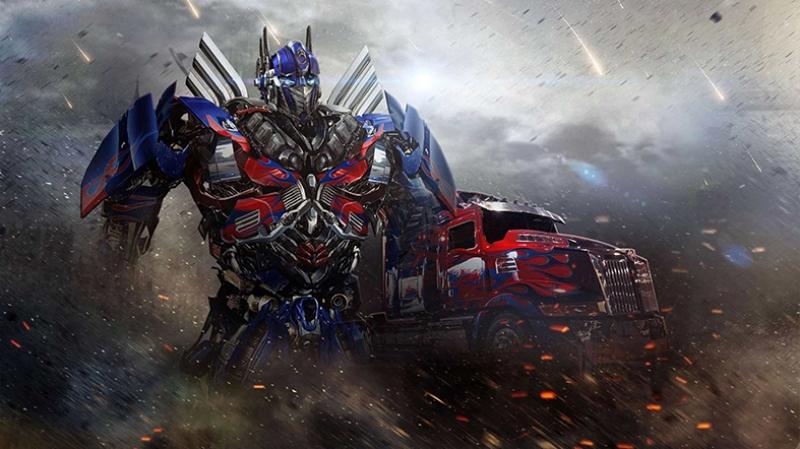 Transformers 4 Age Of Extinction Optimus Prime Kanvas Tablo