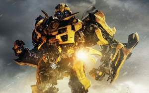 Transformers 4 Bumbleblee Kanvas Tablo