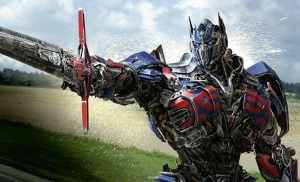 Transformers 4 Optimus Prime Kanvas Tablo