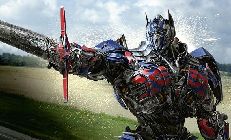Transformers 4 Optimus Prime Kanvas Tablo