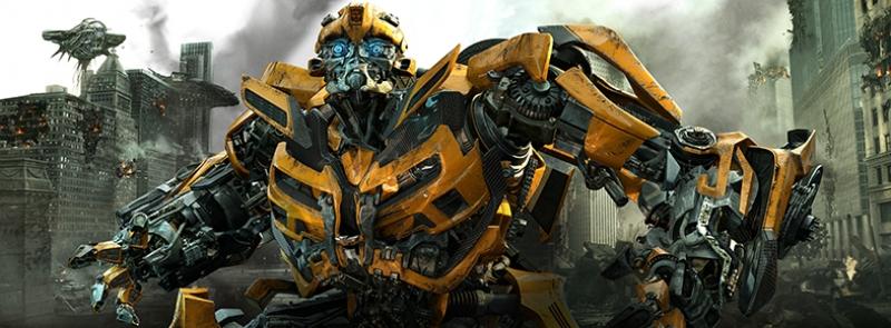 Transformers Bumbleblee Süper Kahramanlar Kanvas Tablo