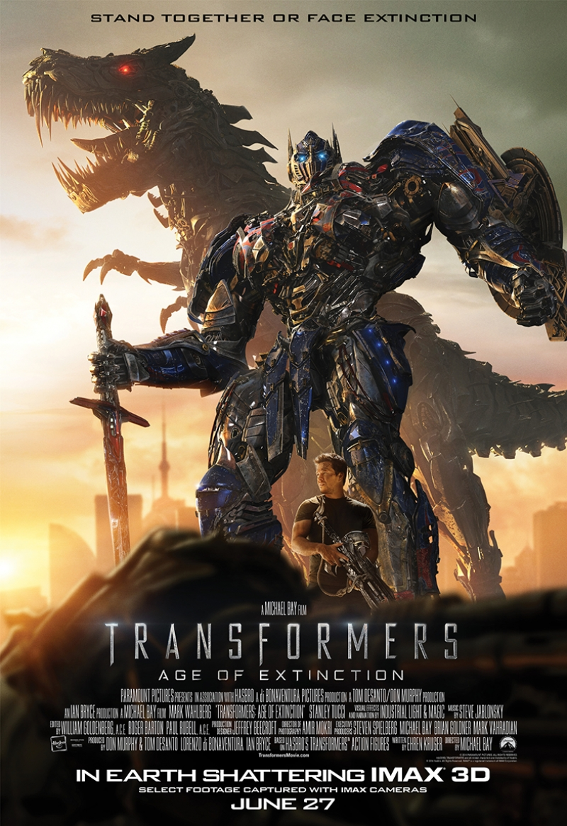 Transformers Film Afişi Süper Kahramanlar Kanvas Tablo