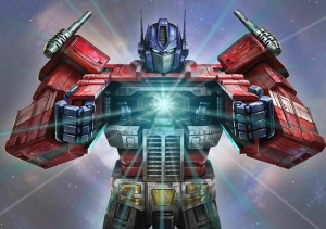 Transformers Optimus Prime-2 Süper Kahramanlar Kanvas Tablo