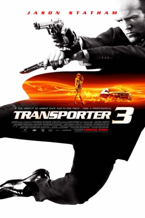 Transporter-3 Film Afişi Sinema Kanvas Tablo